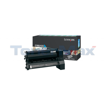 LEXMARK C782 XL PRINT CARTRIDGE CYAN RP 16.5K